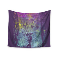 "Frederic Levy-Hadida ""Purple Rain"" Wall Tapestry"