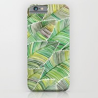 Tropical Green iPhone & iPod Case by Cat Coquillette