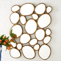 River Stones Wall Mirror