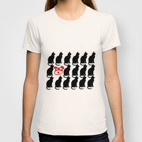 CATTERN - ODD ONE OUT T-shirt by catspaws