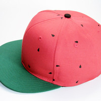 Watermelon Hat - READY TO SHIP