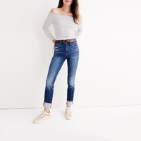 The High-Rise Slim Boyjean : | Madewell