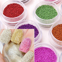 New Fashion Caviar Nails Art 12 Color Manicures or Pedicures Nail Art Hot Sale