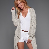 Open Stitch Cable Cardigan