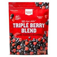 Triple Berry Fruit Blend 48 oz - Market Pantry™