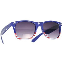 """USA"" American Flag Sunglasses - Mora Patriot Patterns"