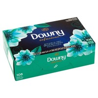 Downy Infusions Botanical Mist Fabric Softener Sheets, 105 count - Walmart.com