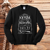 Avada Kedavra harry potter sweater unisex adults