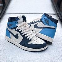 Nike Air Jordan 1 High-Top Sneakers Basketball Shoes