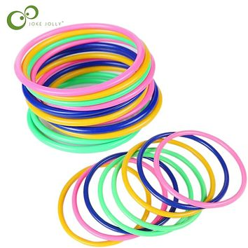 1/5/10pcs Children Outdoor Fun & toy sports Jumping Ring joy ferrule throwing game parent-child interaction Toys WYQ
