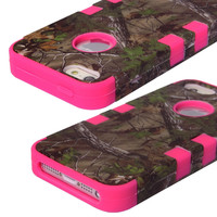 Iphone 5/5s Camo Protective Phone Case