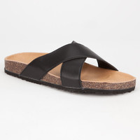 Diva Lounge Kassidy Womens Sandals Black  In Sizes
