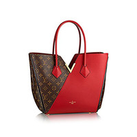 Authentic Louis Vuitton Kimono Tote Monogram Canvas Handbag Article: M40459 Cherry Made in France