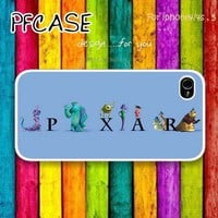 MONSTERS INC with pixar : Case For Iphone 4/4s ,5 / Samsung S2,S3,S4