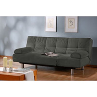 Unique Convertible Euro Sleek Futon Sofa Sleeper Bed and Lounger