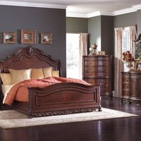 Deryn Sleigh Bed Master Bedroom Set