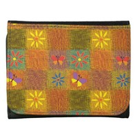 Beautiful Country Patchwork Quilt Wallets