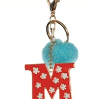 """""""M"""" Intial Key Chain"""