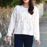 Chunky Knit Sweater {Taupe}
