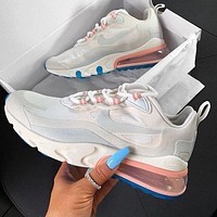 NIKE AIR MAX 270 React Fashion Women Men Casual Air Cushion Running Sport Shoes Sneakers