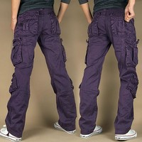 Winter Casual Training With Pocket Couple Outdoors Sports Pants [9724848259]