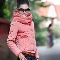 pink unique collar spring jacket fashion final sale g688 from YRB