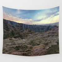 Somerset Sunset Wall Tapestry by ALLY COXON