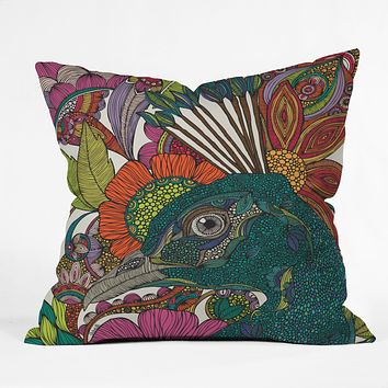 Valentina Ramos Alexis And The Flowers Outdoor Throw Pillow