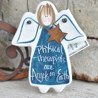 Physical Therapist Gift Ornament PT Thank You Birthday Christmas