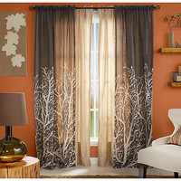 Walmart: Better Homes and Gardens Arbor Springs Semi-Sheer Window Panel