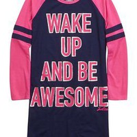Be Awesome Nightgown   Girls Sleep & Undies New Arrivals   Shop Justice