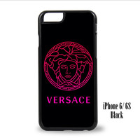 Pink Versace for iPhone 6, iPhone 6s, iPhone 6 Plus, iPhone 6s Plus Case