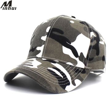 Trendy Winter Jacket Minhui 2018 New Camouflage Baseball Caps for Adult and Kids Outdoor Casquette Snapback Hats for Men Gorras Hat for Children AT_92_12