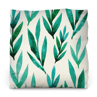 River Bed Outdoor Throw Pillow