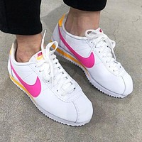 Nike Classic Cortez Fashion Women Casual Leather Sport Shoes Sneakers