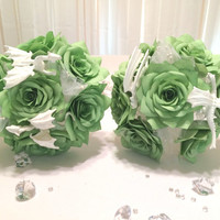 Dungeons and Dragon themed wedding bouquets in colors of your choice,  Game of Thrones themed paper flower bouquets, Fantasy themed bouquet