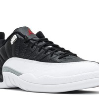 free shipping air jordan 12 retro low playoff basketball shoes