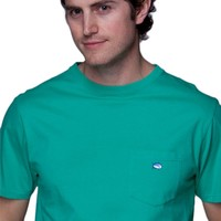 SOUTHERN TIDE MEN'S EMBROIDERED POCKET TEE