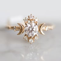 Wandering Star Ring - Wedding & Engagement - Catbird