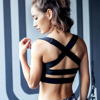 Beach Sexy Stylish Hot Summer Comfortable Bralette Sports Underwear Gym Backless Yoga Jogging Vest [10392690246]
