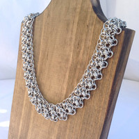 Gorgeous Rondo a la Byzantine Necklace - Ready to Ship