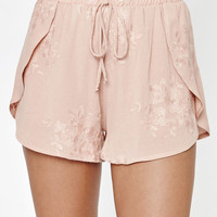 Kendall and Kylie Embroidered Twin Tulip Soft Shorts at PacSun.com
