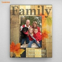 Holiday-Fall-Family Picture Frame