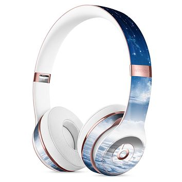 Vivid Blue Falling Stars in the Night Sky Full-Body Skin Kit for the Beats by Dre Solo 3 Wireless Headphones