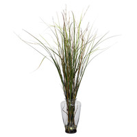Grass and Bamboo Silk Plant