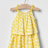 Lemonade two-tier dress | Gap