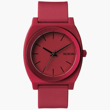Nixon Time Teller P Watch Red One Size For Men 25996330001