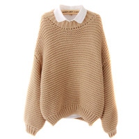 Cali Oversized Knit Sweater