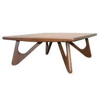Pre-owned Kroehler Walnut Coffee Table