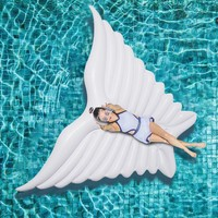 White Huge Angel Wing Inflatable Pool Float